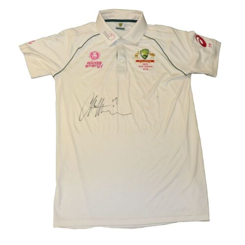 James Pattinson Signed Australian Cricket Team Playing Shirt