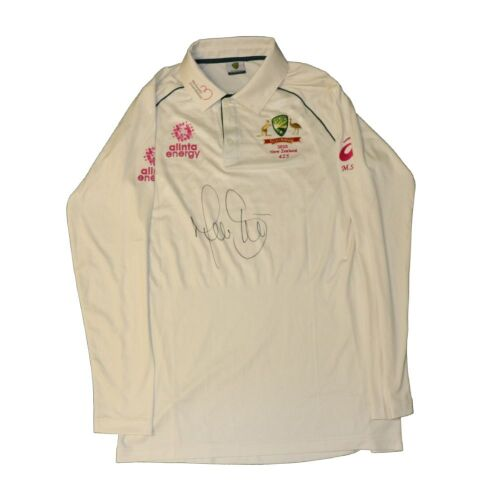 Mitchell Starc Signed Australian Cricket Team Playing Shirt