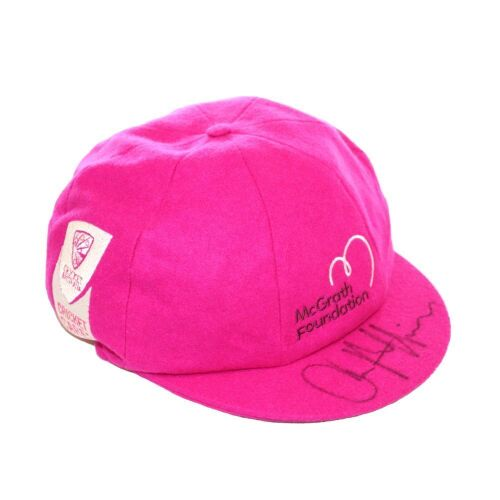 James Pattinson Australian Team Signed Pink Baggy