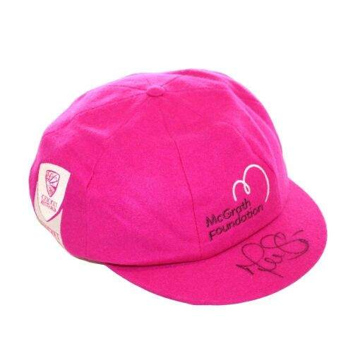 Mitchell Starc Australian Team Signed Pink Baggy