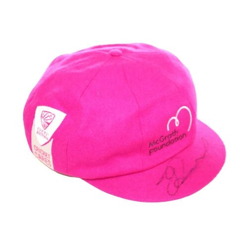 Jeet Raval New Zealand Team Signed Pink Baggy