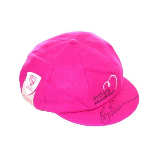 Kane Williamson New Zealand Team Signed Pink Baggy