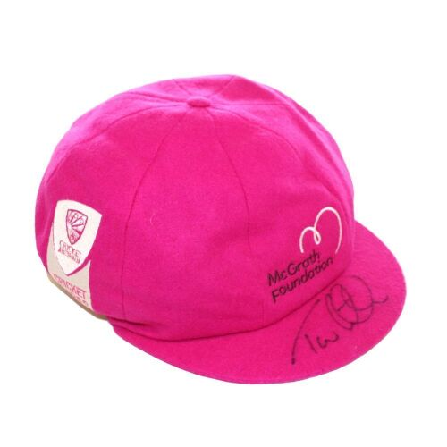 Tom Latham New Zealand Team Signed Pink Baggy