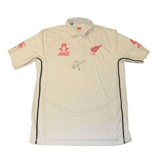Will Somerville New Zealand Team Signed Playing Shirt