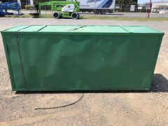 Unused 2019 40' x 40' Dome Container Shelter - 4