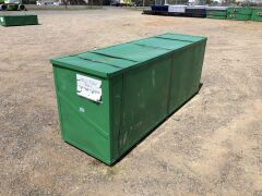 Unused 2019 40' x 30' Pitched Container Shelter - 3