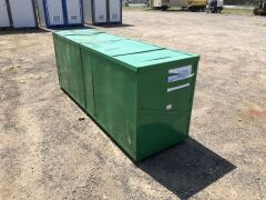 Unused 2019 40' x 30' Pitched Container Shelter - 5