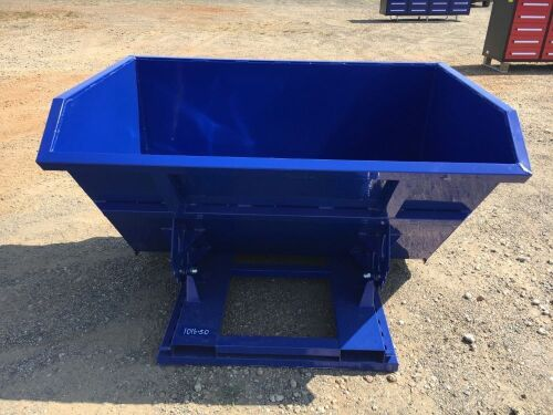 Unused 2019 1.5 Cubic Yard Forkliftable Dumping Hopper