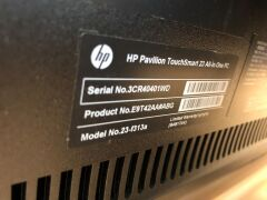 HP Touchsmart 23 All-in-one Workstation - 3