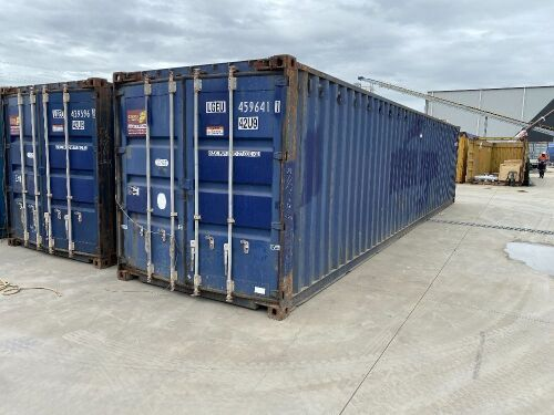 40' Modified Modified Open Top Shipping Container - LGEU 459641.1