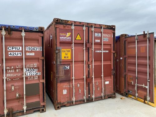 40' Modified Modified Open Top Shipping Container LGEU 909631.6