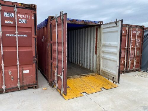 40' Modified Open Top Shipping Container CPIU 190472.5