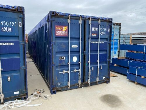 40' Modified Modified Open Top Shipping Container LGEU 457571.7