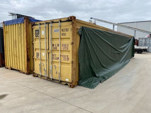 40' Open Top Shipping Container MSC XXXX 452787.1