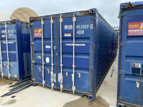 40' Modified Modified Open Top Shipping Container LGEU 452009.9