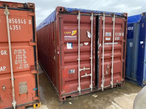 40' Modified Open Top Shipping Container LGEU 41268.7