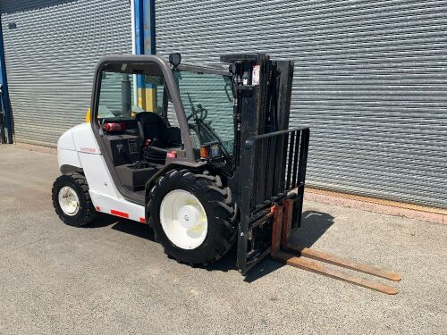 2011 Manitou MH25-4 All Terrain Forklift *RESERVE MET*