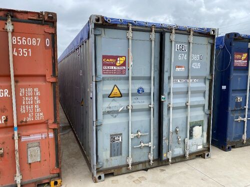 40' Modified Open Top Shipping Container LGEU 674383.0