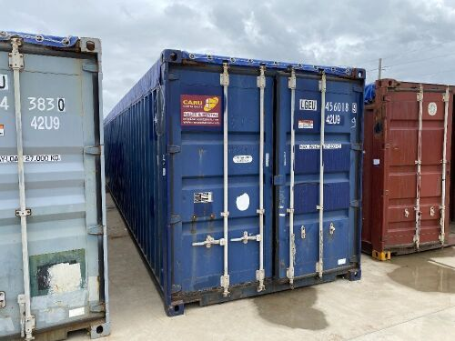 40' Modified Open Top Shipping Container LGEU 456018.9