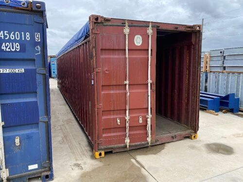 40' Open Top Shipping Container CARU 495939.4 *RESERVE MET*