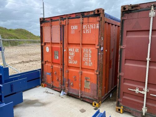 40' Open Top Shipping Container CARU 851263.4 *RESERVE MET*