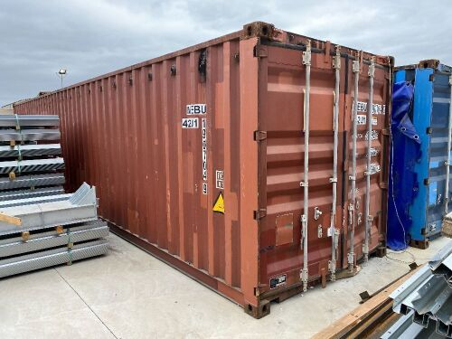 40' Modified Open Top Shipping Container MEBU 190704.9