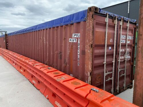 40' Modified Open Top Shipping Container CPIU 190478.8