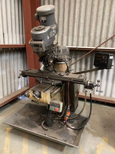 Bridgeport Milling Machine *RESERVE MET*