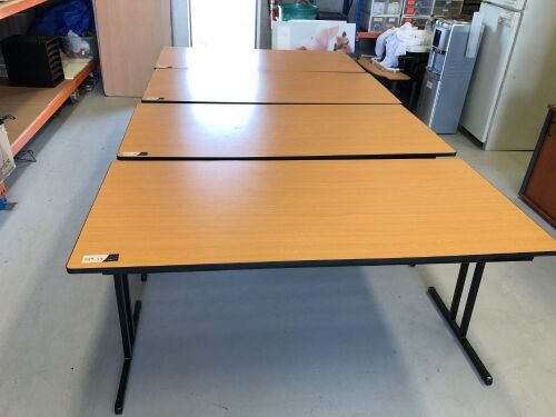 Quantity of 5 x Foldable Tables