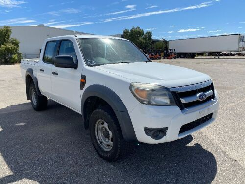 2011 Ford Ranger XL 4x2 Dual Cab Utility *RESERVE MET*