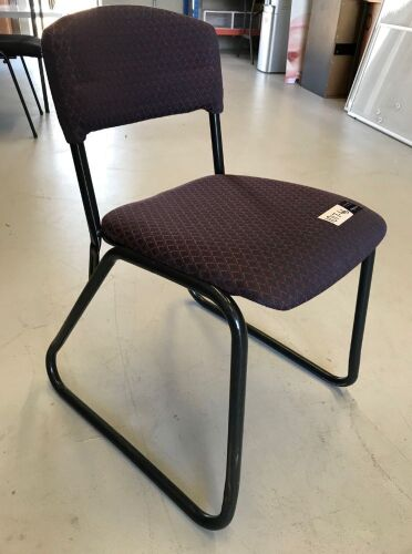 Quantity of 8 x Assorted Fabric Chairs