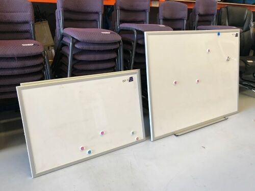 Quantity of 3 x Whiteboards