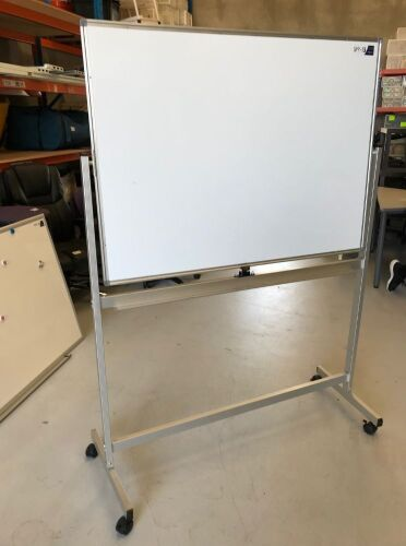 Whiteboard on Mobile Stand
