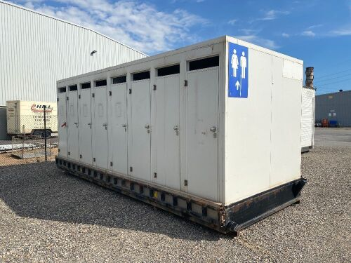 16-person Transportable Ablution Block
