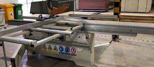 Sliding Table Saw SCM si400 nova br