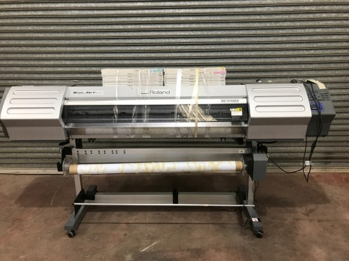 Roland Inkjet Printer and Cutter, Model: SC-545 Ex Print and Cut