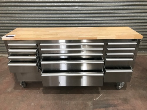 Ultimate Stainless Steel Multi drawer Tool Box
