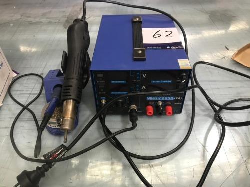Yil-IUA Soldering and Rework Station, Model: 853D, 240 volt