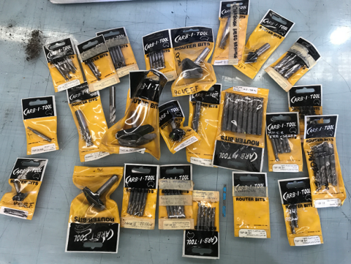 Approx 200 assorted Router Bits and Cutting Tools