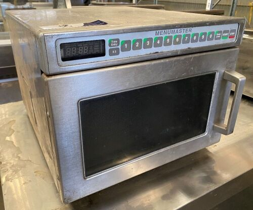 Menumaster Commercial Microwave Oven, Model: UC18E2