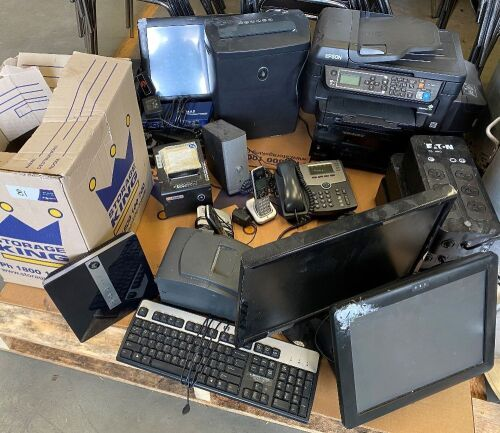 Large quantity of assorted IT Equipment