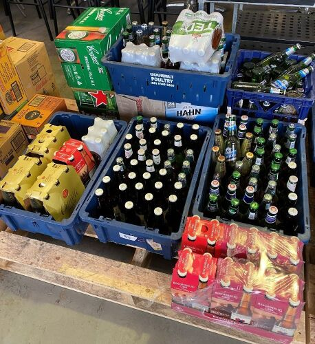 Large quantity of assorted Beer and Cider