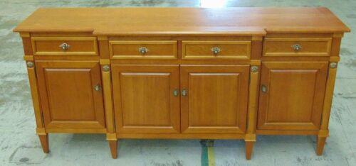 Timber 4 Door 4 Drawer Buffet - Dims 2080W x 530D x 970H mm