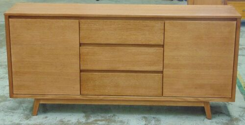 2 Door/3Drawer 1800 Buffet timber - Dims 1800W x 430D x 860H mm
