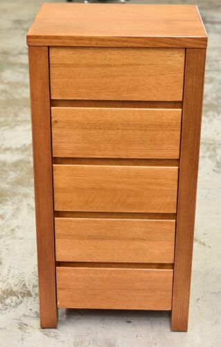 5 Drawer Timber Cabinet - Dimensions 510W x 420D x 1040Hmm
