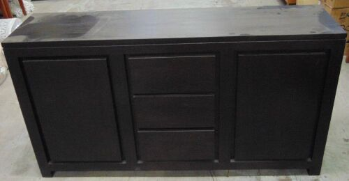 1 x 2 door/3 drawer cabinet
