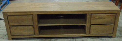 1 x 4 drawer/2 shelf tv cabinet