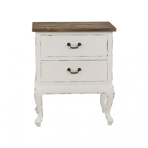 Antique White Cabinet 58x70cm