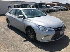 2016 Silver Toyota Camry Altise ASV50R Automatic Sedan with 110,993 Kilometres