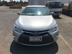 2016 Silver Toyota Camry Altise ASV50R Automatic Sedan with 110,993 Kilometres - 2